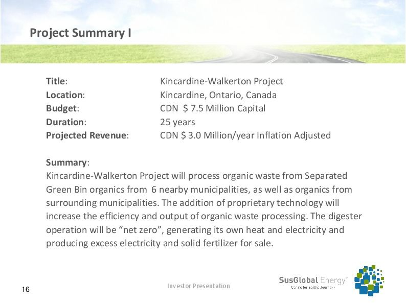 Investor presentation   susglobal energy corp october 2017 page 15