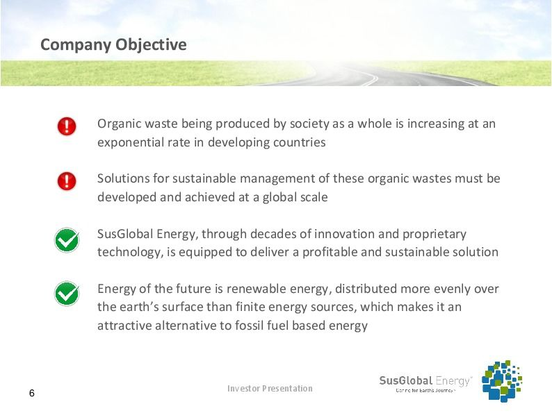 Investor presentation   susglobal energy corp october 2017 page 5