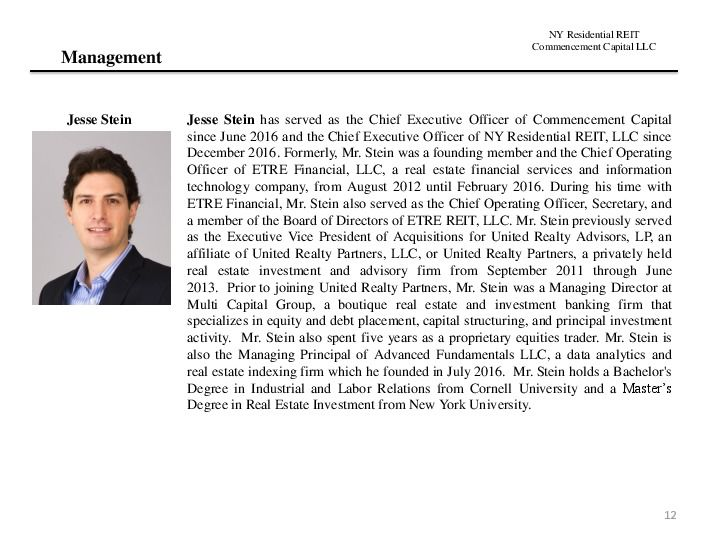 Ny residential reit road show presentation.12.17 page 11