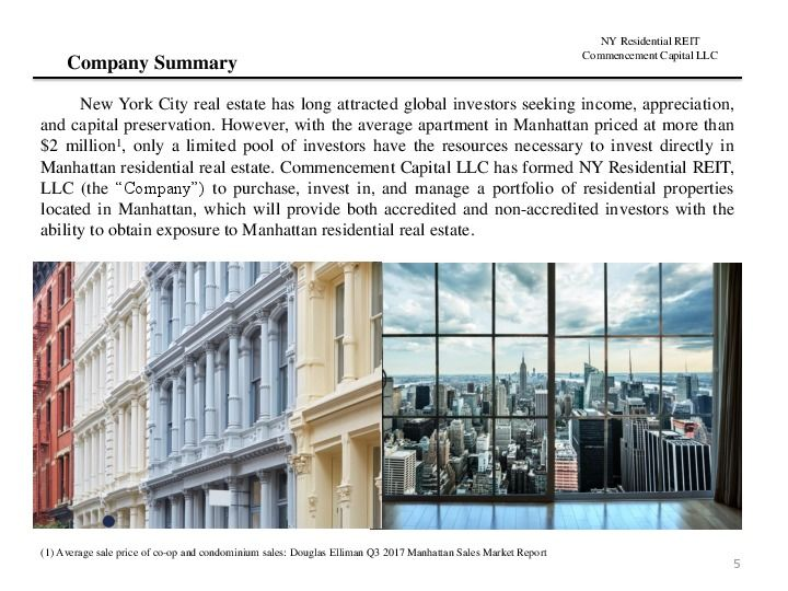 Ny residential reit road show presentation.12.17 page 4
