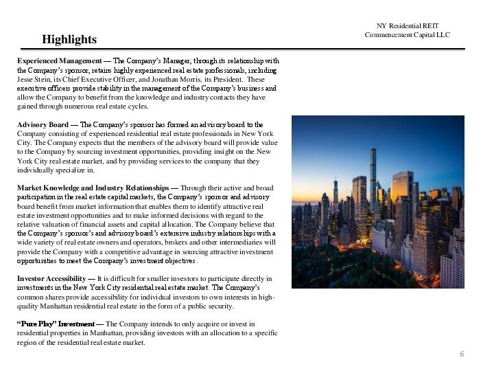 Ny residential reit road show presentation.12.17 page 5