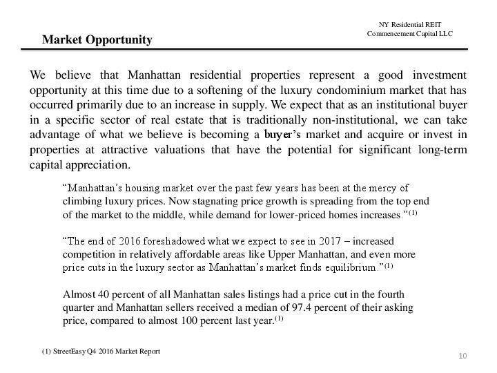 Ny residential reit road show presentation.12.17 page 9